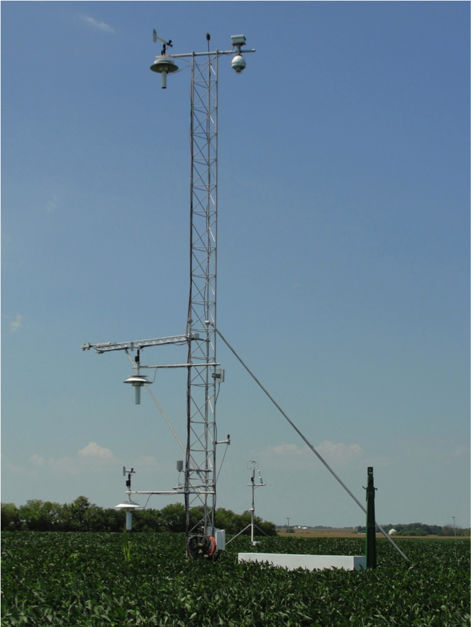 SEBN site at Bondville, Illinois