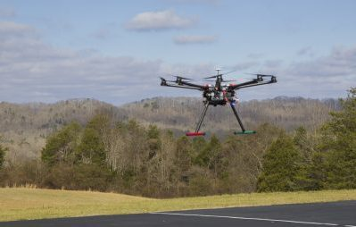 Multi-rotor, unmanned helicopter