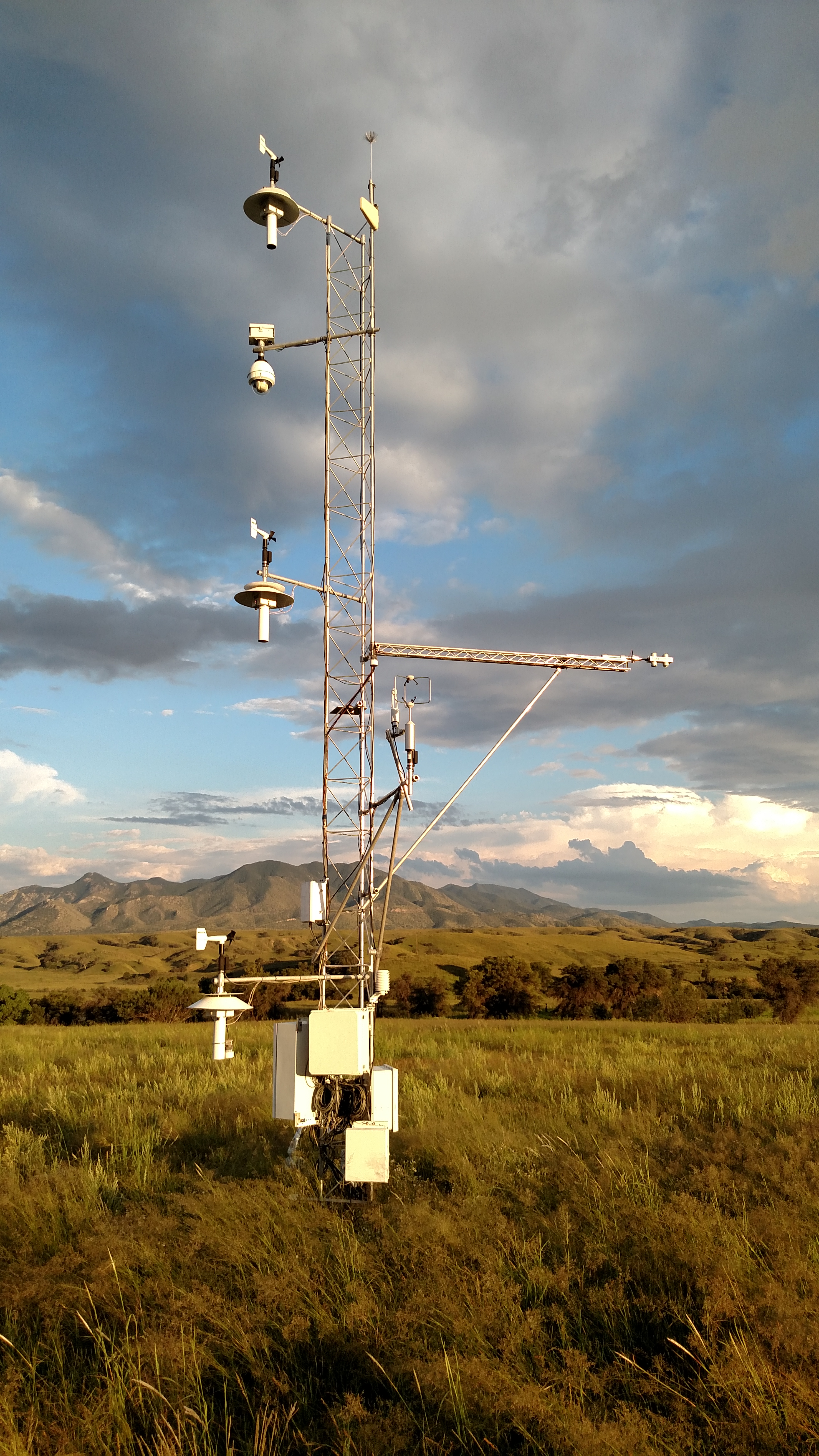 air-surface exchange flux tower