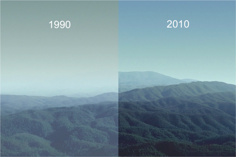 smoky mountains improve over time