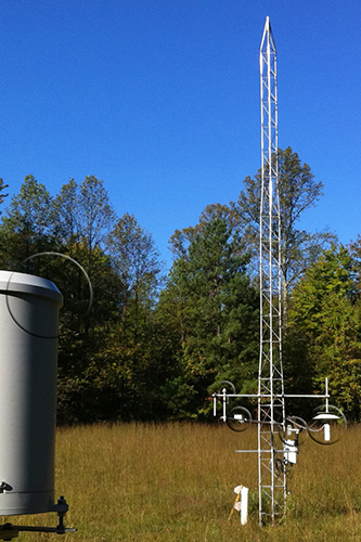CORE Tower at the Walker Branch Watershed