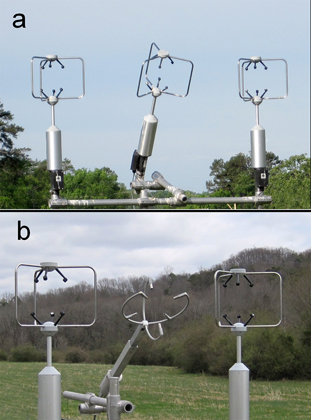 sonic anemometers