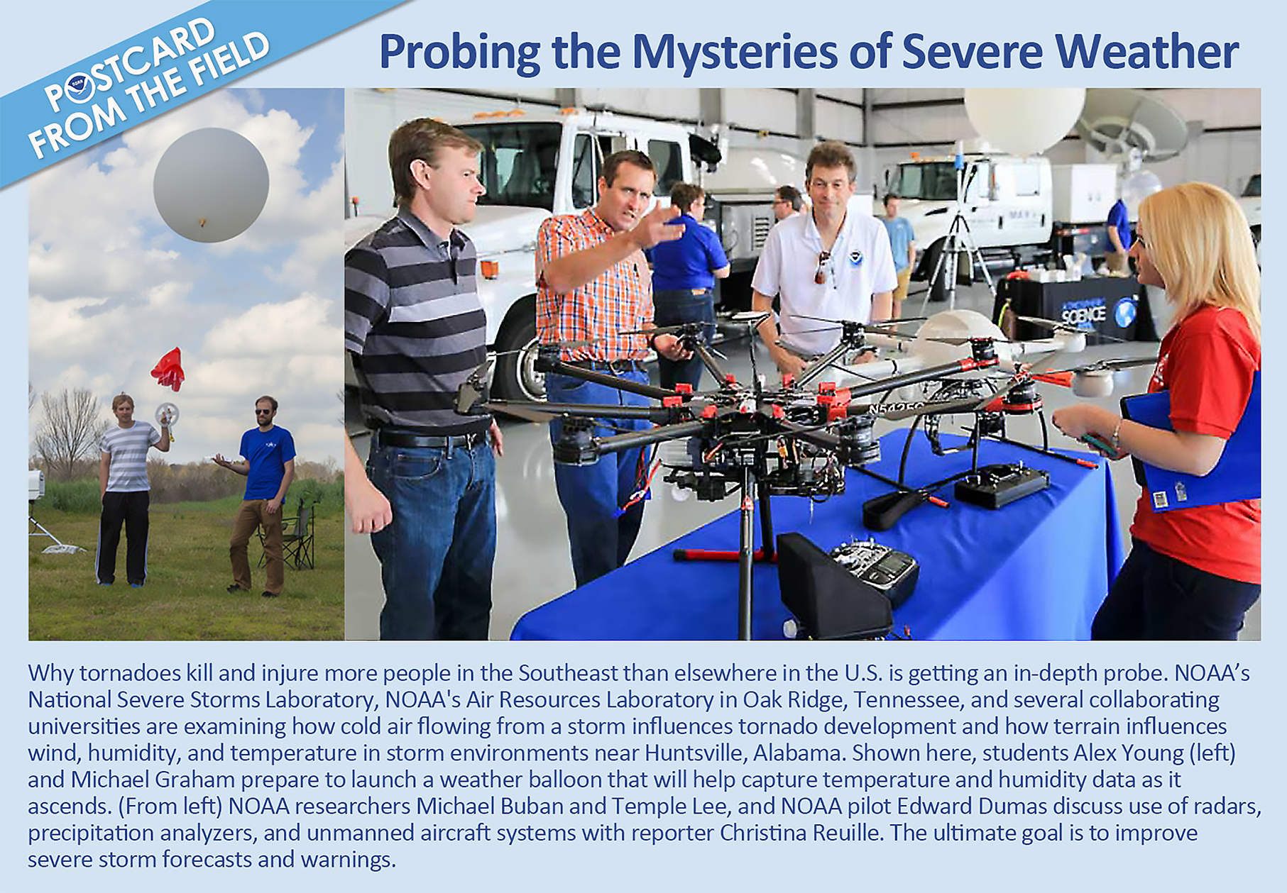 POSTCARD FROM THE FIELD: Probing the Mysteries of Severe Weather