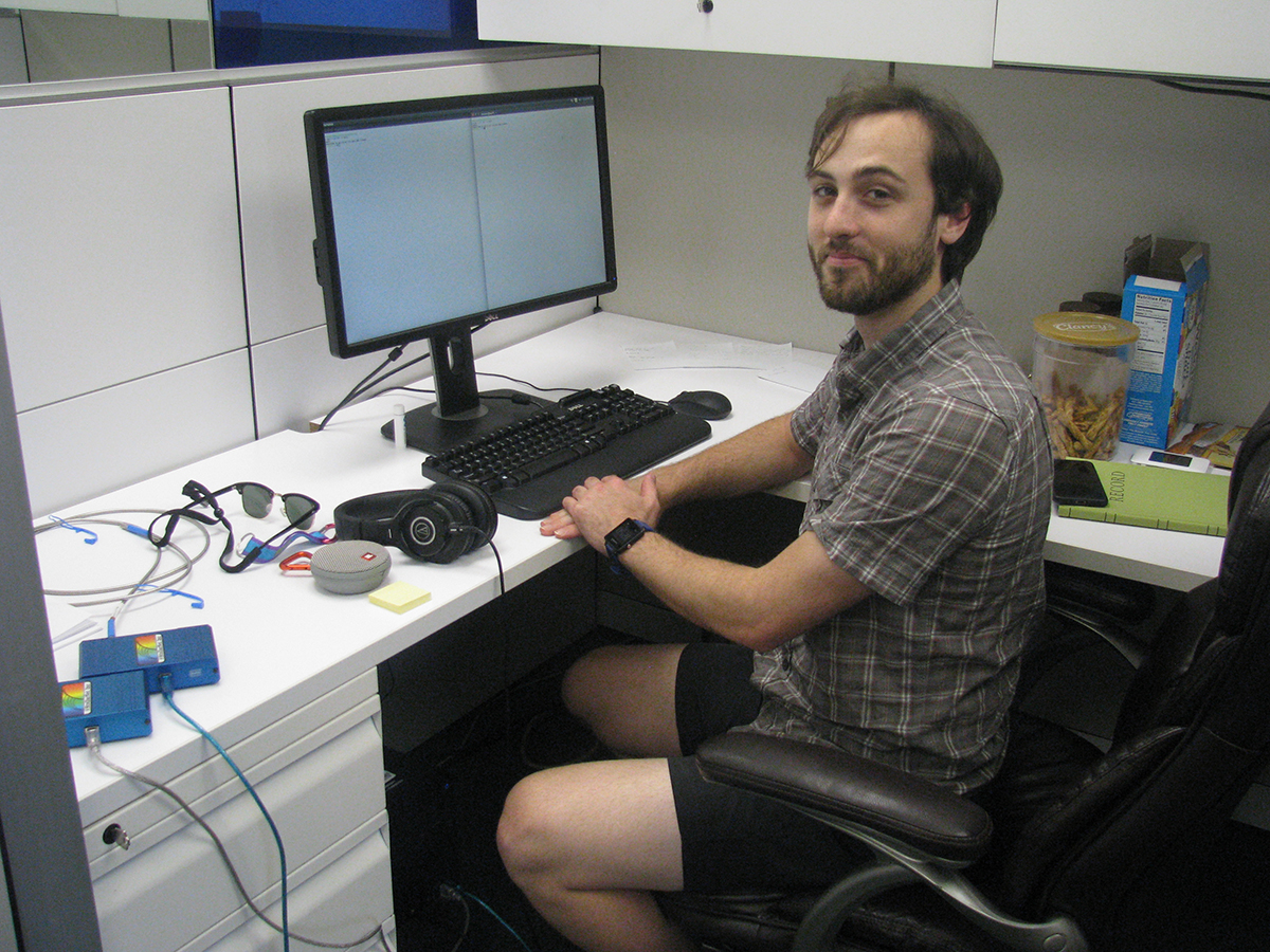 Zach Moon, a PhD graduate student in Meteorology and Atmospheric Science at Penn State University