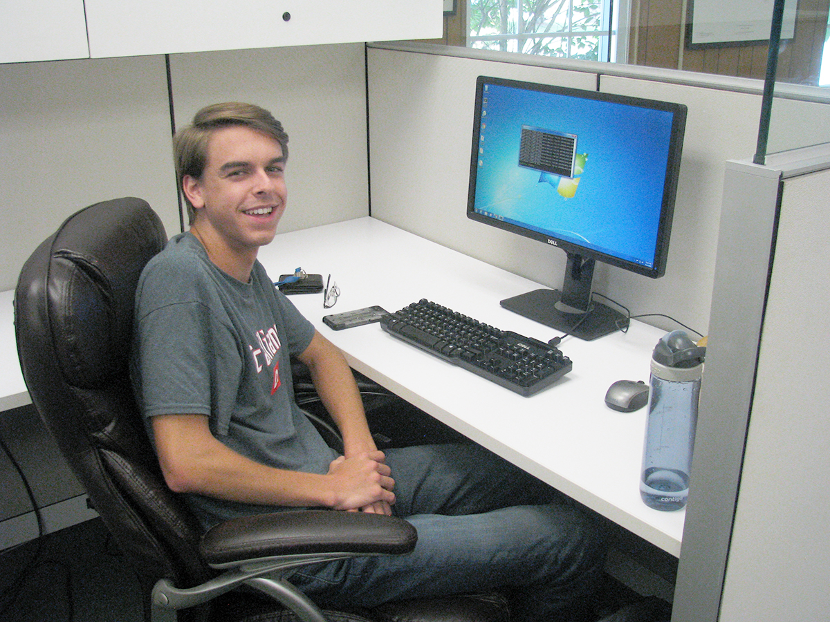 Chase Hahn, a sophomore Microbiology major at Middle Tennessee State University
