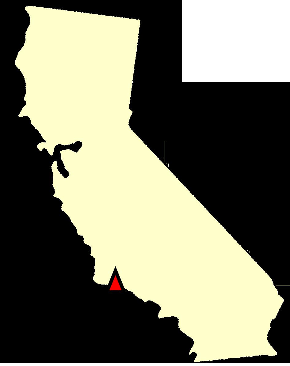 State map location for CA Santa Barbara