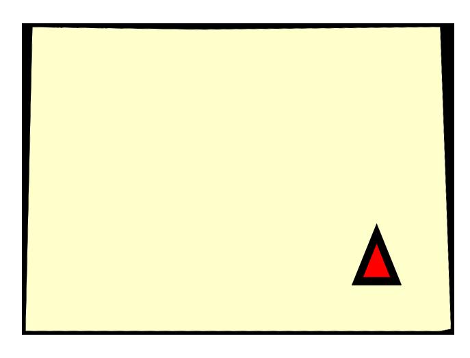State map location for CO La Junta