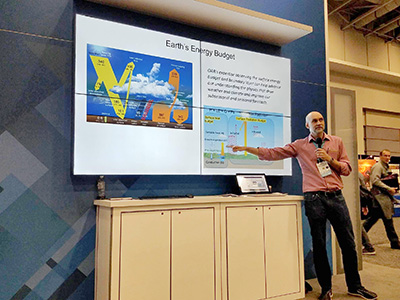 John Kochendorfer presenting