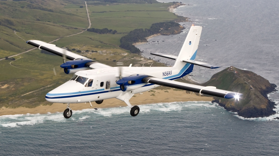 NOAA Twin Otter photo by Kip Evan