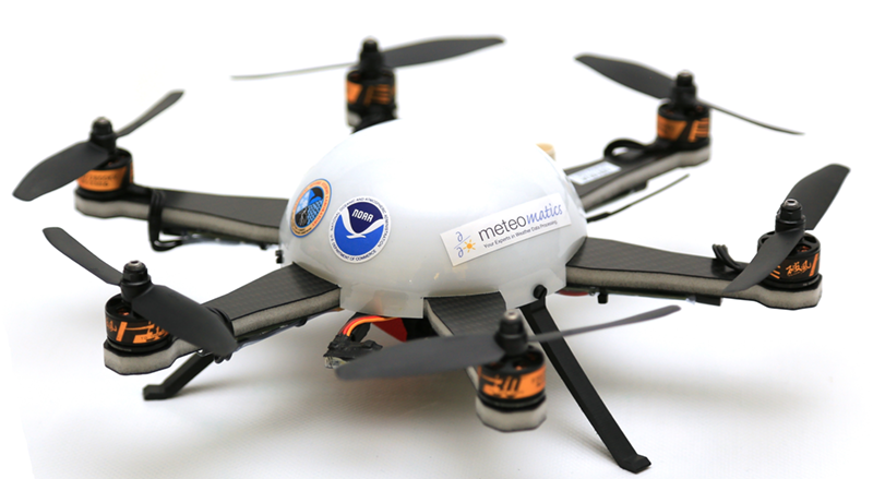Image of Meteodrone